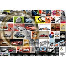 AFFICHES AUTOMOBILES PORSCHE O