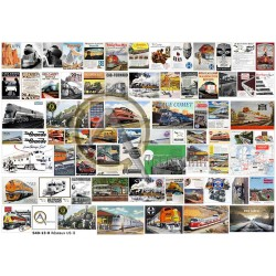 US RAILWAY LINES POSTERS 02 O