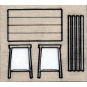 1 TABLE 17 x 9,5 HO