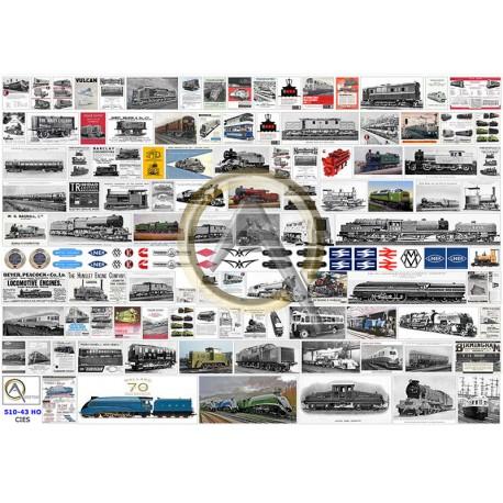 BRITISH RAILWAY BUILDERS POSTERS