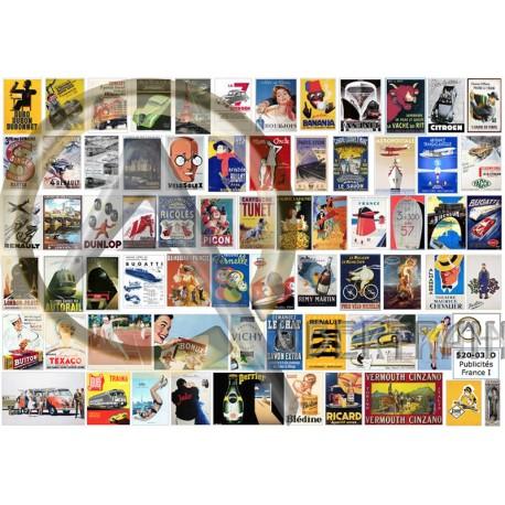 PUBLICITÉS FRANCE I