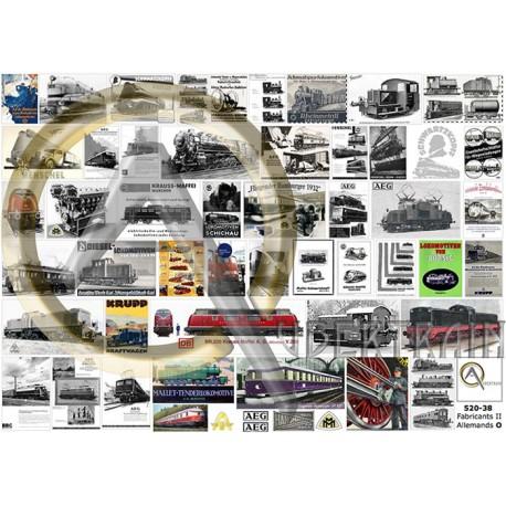 CONSTRUCTEURS FERROVIAIRES ALLEMANDS II O