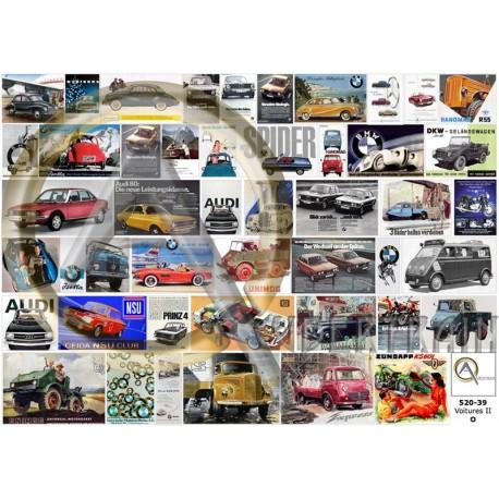 GERMAN CARS POSTERS II