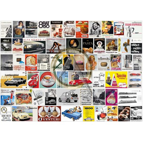 TIPICAL ITALIAN PRODUCTS POSTERS II