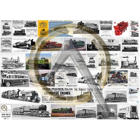 CONSTRUCTEURS FERROVIAIRES ANGLAIS 1