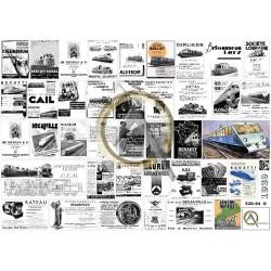 FRENCH RAILWAY ADS 1939