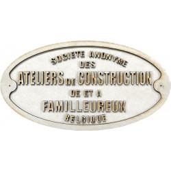 FAMILLEUREUX TROCHITA PLATE