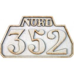 DIESEL 352 PLATE