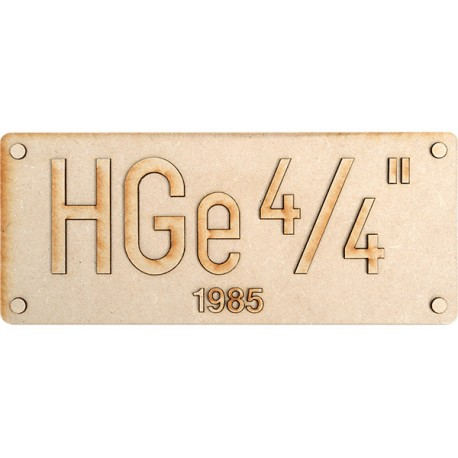 HGe 4/4 FO PLATE