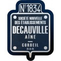 DUAL LAYERS DECAUVILLE PLATE