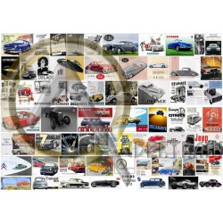 O FRENCH CARS POSTERS
