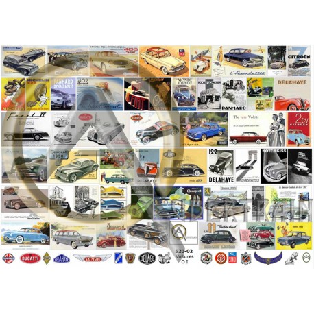 O FRENCH CARS I POSTERS