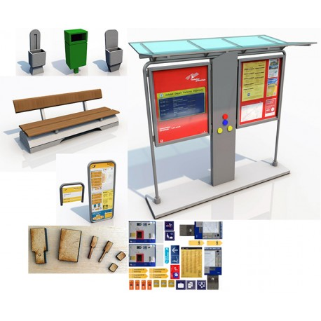 SWISS STOP on DEMAND SYSTEM & RAILWAY FURNITURE