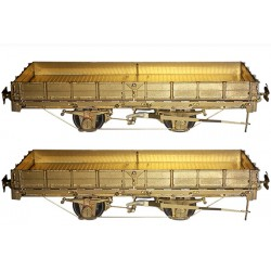 PAIR OF CP HOm FLAT CAR KITS