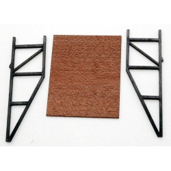 2 SUPPORTS POUR AFFICHES 24,2 x 30 mm HO