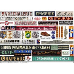 FRENCH SHOP SIGNS I