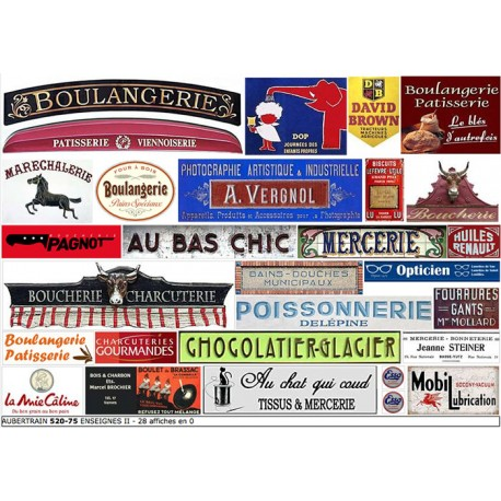 FRENCH SHOP SIGNS II