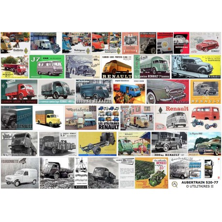 O 40 FRENCH UTILITY VEHICLES 1935-1970 PART II