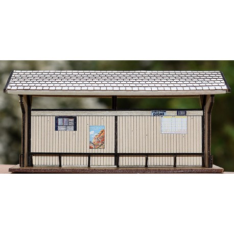 HOm CP OPEN WOOD PASSENGERS SHELTER KIT.