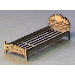 SINGLE BED WOODEN KIT