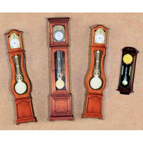 3 PENDULUM CLOCKS
