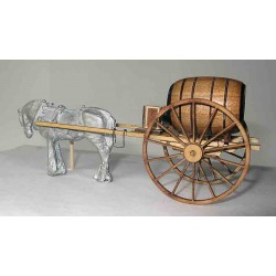 WATER TANK HORSE CARRIAGE WOOD KIT