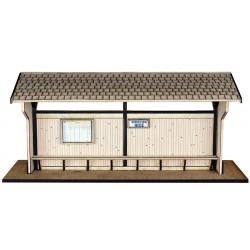 Om CP OPEN WOOD PASSENGERS SHELTER KIT.