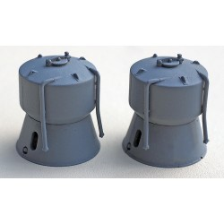 PAIR OF CEMENT TANKS KIT
