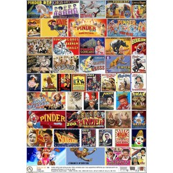 48 CIRCUS POSTERS HO