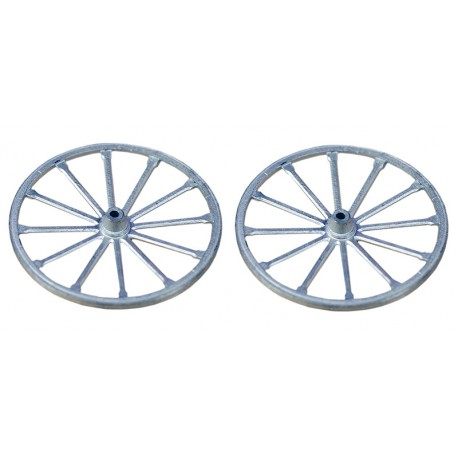 2 ROUES ∅ 28 mm