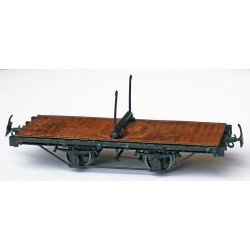 PAIR OF CP HOm FLAT CAR KIT WITH ROTATING STRIP