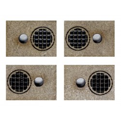 4 WATER COLLECTORS