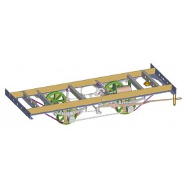 ASSEMBLY CP BOX CAR BRASS FRAME KIT