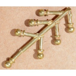 7 BRASS O ROOF VENTILATORS
