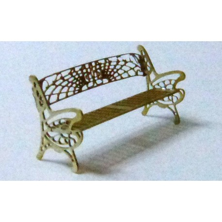2 0 TRIPLE IRONWORK BENCHES