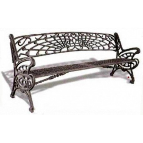 4 TRIPLE IRONWORK HO BENCHES