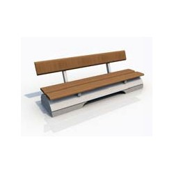 2 STONE & WOOD LONG SEAT KIT