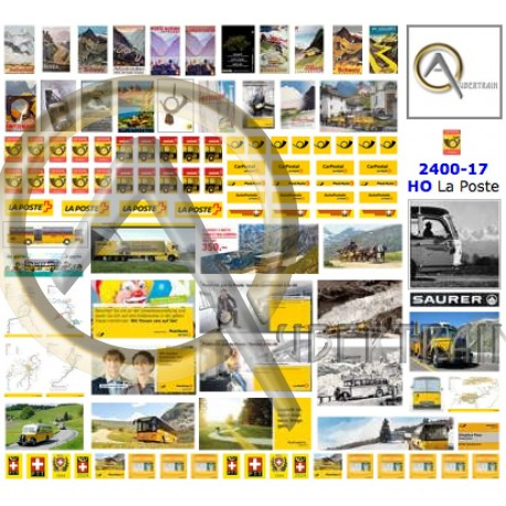 120 SWISS POST ADS