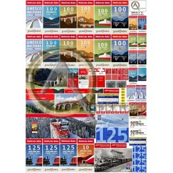 RHB ANNIVERSARIES POSTERS & ADS G SCALE