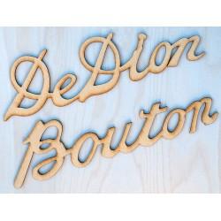 DE DION BOUTON PLATE