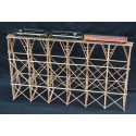 TRESTLE BRIDGE BLOSSOM MINE HO ASSEMBLED PAINTED