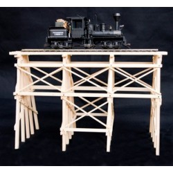 TRESTLE BRIDGE CHAMA O ASSEMBLED