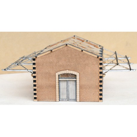 WOODEN GOOD SHED CP KIT