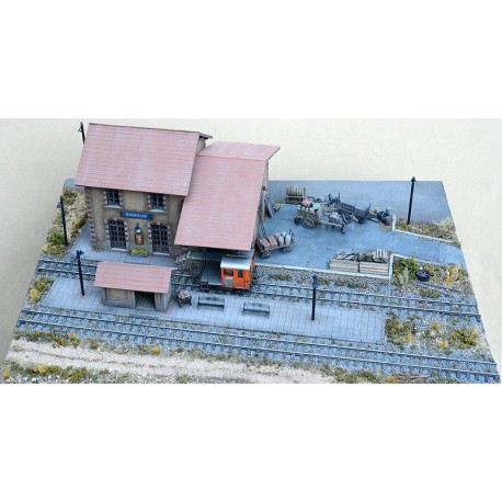 BARRÊME 2 BAYS ONE GOOD SHED WEATHERED LAYOUT