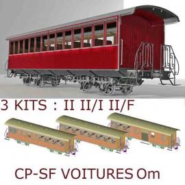 Om CP SECOND CLASS + II/I CLASS + II/LUGGAGE VAN KITS