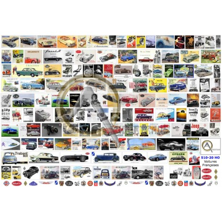 FRENCH CARS BUILDERS POSTERS